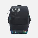 Y-3 Qasa Small Print Detritus Backpack Black photo- 0