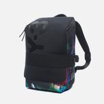 Y-3 Qasa Small Print Detritus Backpack Black photo- 1