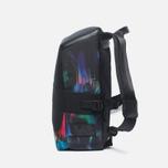 Y-3 Qasa Small Print Detritus Backpack Black photo- 2