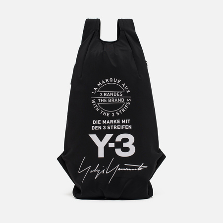 Рюкзак Y-3 Yohji Black Metal Buckle Black