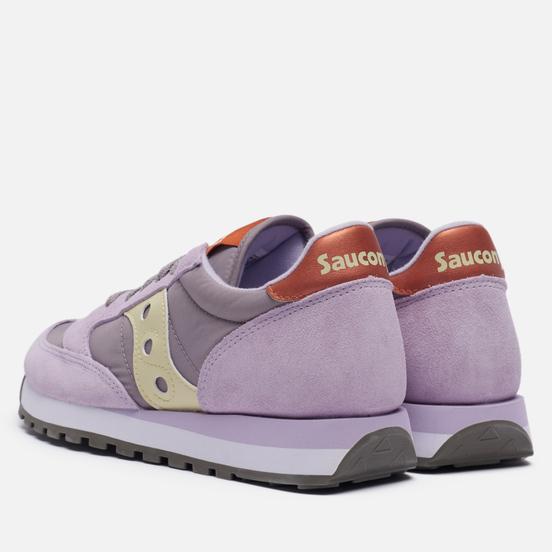 Женские кроссовки Saucony Jazz Original Purple/Yellow