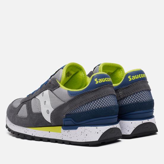 Мужские кроссовки Saucony Shadow Original Grey/Blue/Yellow