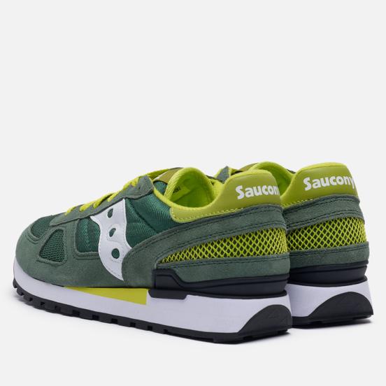Мужские кроссовки Saucony Shadow Original Green/White/Yellow