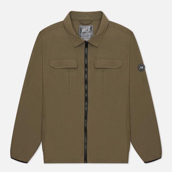 Мужская рубашка Peaceful Hooligan Page Overshirt Khaki