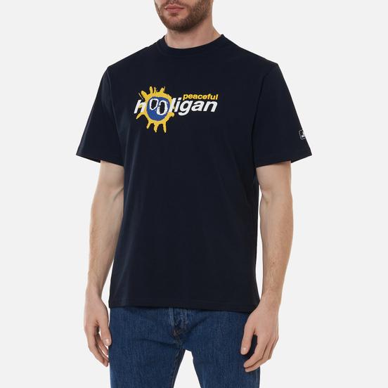 Мужская футболка Peaceful Hooligan Scream Navy
