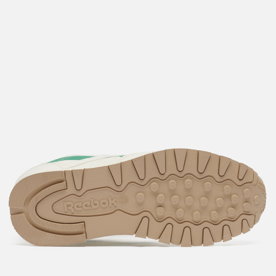 Мужские кроссовки Reebok Classic Leather Grow Chalk/Court Green/Horizon Blue