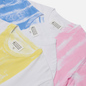 Комплект мужских футболок Maison Margiela 3-Pack Colour Block White/Blue/Yellow/Pink фото - 1