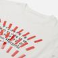 Мужская футболка Maison Margiela Tape Print Oversized Off White фото - 1