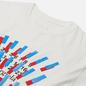 Мужская футболка Maison Margiela Tape Print Off White фото - 1