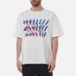 Мужская футболка Maison Margiela Tape Print Off White фото - 2
