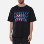 Мужская футболка Maison Margiela Tape Print Washed Black фото - 2