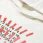 Мужская толстовка Maison Margiela Tape Print Oversized Hoodie Off White фото - 1