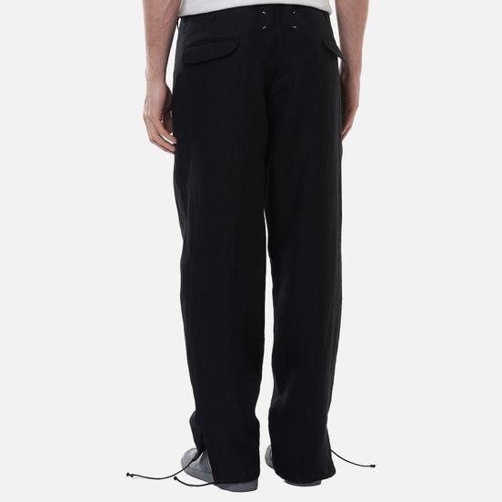 Мужские брюки Maison Margiela Four Stitch Drawstring Black
