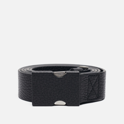 Ремень Maison Margiela Clip Buckle Leather Black