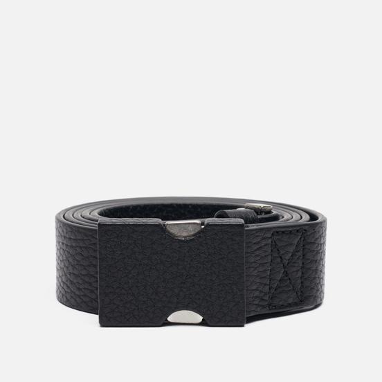 Ремень Maison Margiela Clip Buckle Leather Black