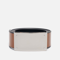 Ремень Maison Margiela Four Stitch Buckle Leather Black/Cuoio