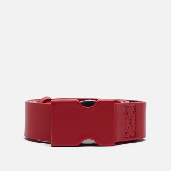 Ремень Maison Margiela Buckle Closure Leather Flame Scarlet