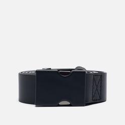 Ремень Maison Margiela Buckle Closure Leather Black