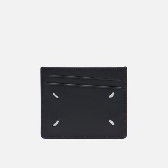 Держатель для карточек Maison Margiela Four Stitch Leather Black/Black
