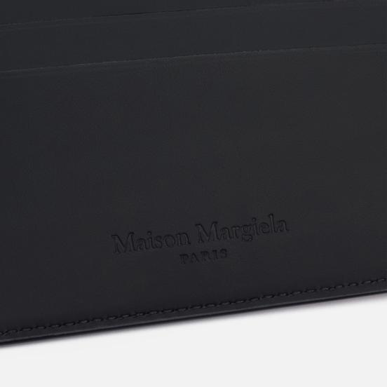 Кошелек Maison Margiela Front Numerical Logo Embossed Cuoio