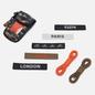 Мужские кроссовки adidas Originals x Out There ZX 8000 Core Black/Collegiate Orange/Gum фото - 6