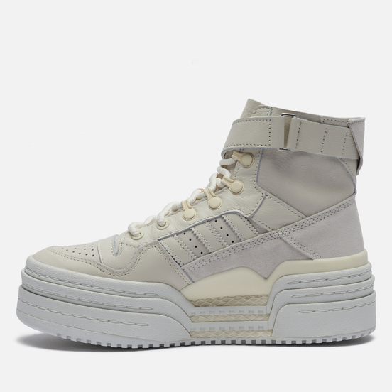 Женские кроссовки adidas Originals Triple Platforum Hi Dirty Cream Off White/Off White/Cream White