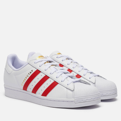 Кроссовки adidas Originals Superstar Moscow Cloud White/Scarlet/Gold Metallic