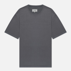 Мужская футболка Maison Margiela Crew Neck Oversize Fit Ash Grey