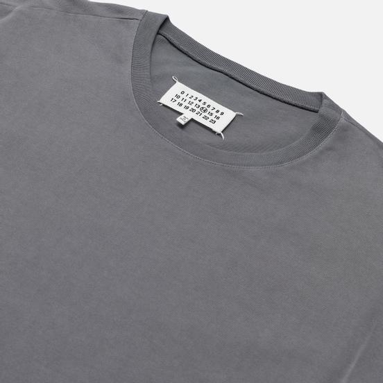 Мужская футболка Maison Margiela Crew Neck Oversize Fit Ash Grey