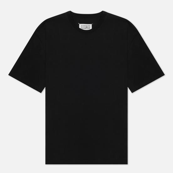 Мужская футболка Maison Margiela Crew Neck Oversize Fit Black