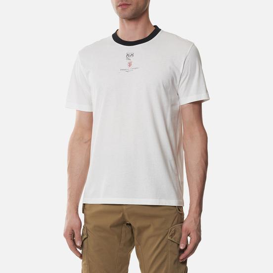 Комплект мужских футболок Maison Margiela Stamp Memory Of 3-Pack White