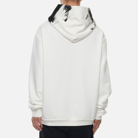 Мужская толстовка Maison Margiela Painted Effect Hoodie Off White