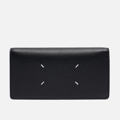 Кошелек Maison Margiela Four Stitch Travel Leather Black/Black