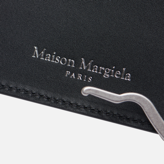 Кошелек Maison Margiela Four Stitch Money Clip Leather Black