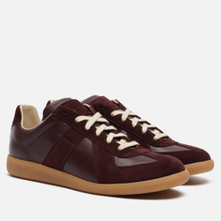 Мужские кроссовки Maison Margiela Replica Low Top Carry Over Wine/Bordo