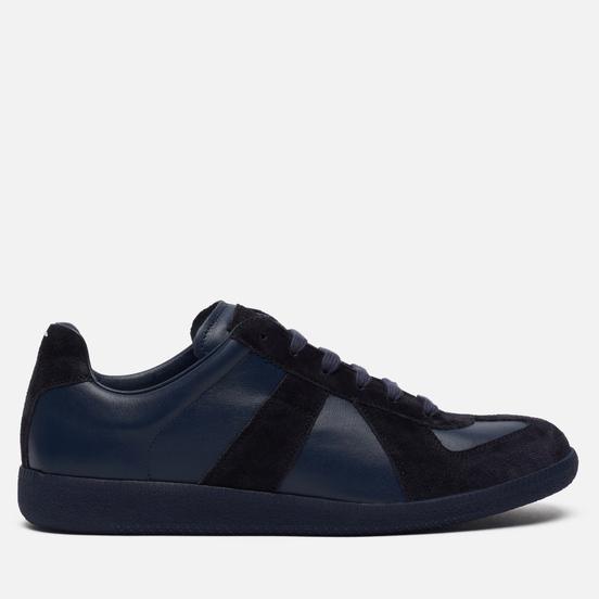 Мужские кроссовки Maison Margiela Replica Low Top Oceania/Bluette