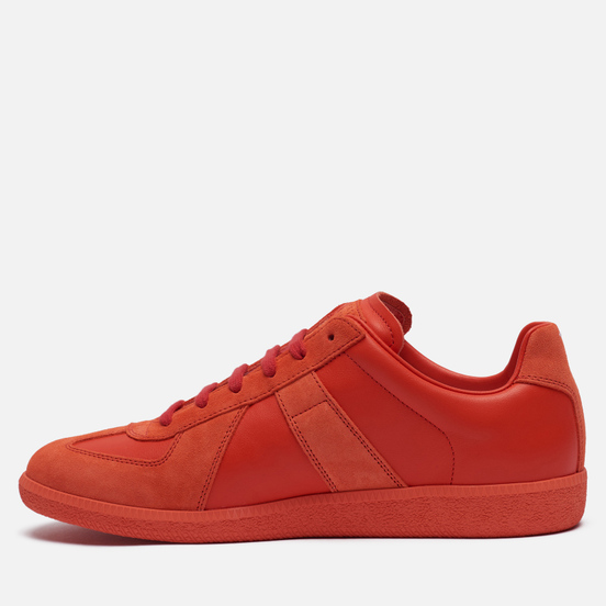 Мужские кроссовки Maison Margiela Replica Low Top Red