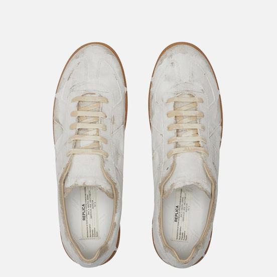 Мужские кроссовки Maison Margiela Replica Bianchetto Natural/White Matte