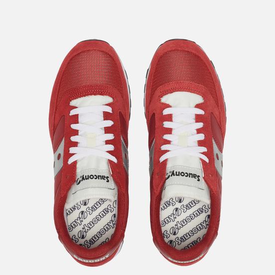 Мужские кроссовки Saucony Jazz Original Vintage Red/White/Silver