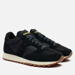 Мужские кроссовки Saucony Jazz Original Vintage Suede Logo Limo/Cyber Yellow/High Risk Red