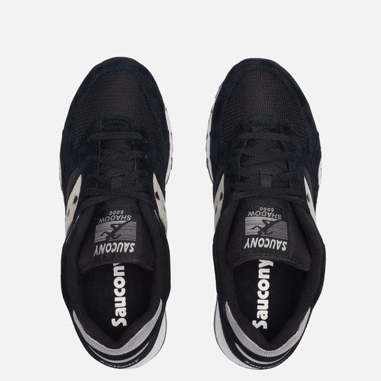 Мужские кроссовки Saucony Shadow 6000 Black/Silver
