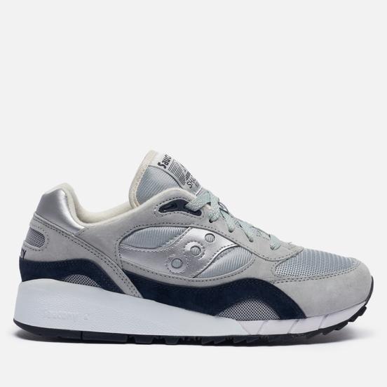 Мужские кроссовки Saucony Shadow 6000 Grey/Silver