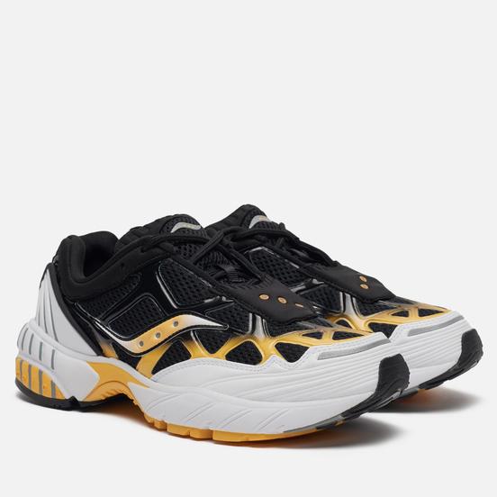 Мужские кроссовки Saucony Grid Web White/Black/Yellow