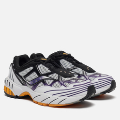 Мужские кроссовки Saucony Grid Web White/Purple/Yellow