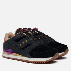 Мужские кроссовки Saucony x Lapstone And Hammer Courageous Moc Navy/Brown