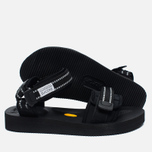 Мужские сандалии Mt. Rainier Design x Suicoke Reflect CEL-VMR Black фото- 1