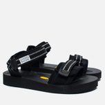 Мужские сандалии Mt. Rainier Design x Suicoke Reflect CEL-VMR Black фото- 2