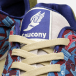 Кроссовки Saucony x Bodega Shadow 6000 African Print Red/Grey фото- 3