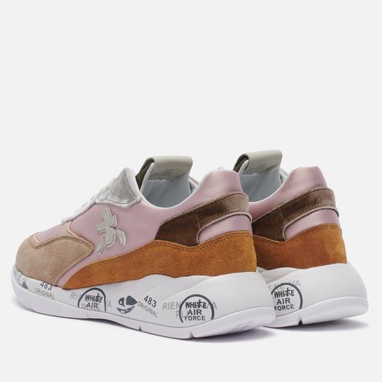 Женские кроссовки Premiata Scarlett 5324 Pink/Brown