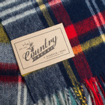 Шарф Barbour Bright Country Plaid Navy фото- 1